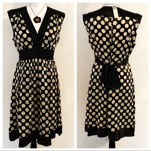 🆕Women's WD.NY Polka Dot Dress Size 6